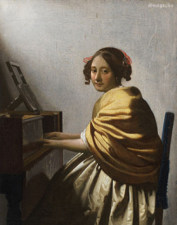 Johannes Vermeer (1632-1675), Young Woman Seated at a Virginal, ca. 1670-72, Oil on canvas, New York, The Leiden Collection