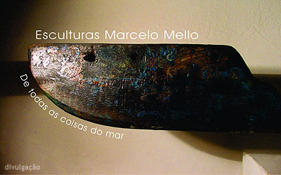 expo 'De todas as coisas do mar', de Marcelo Mello